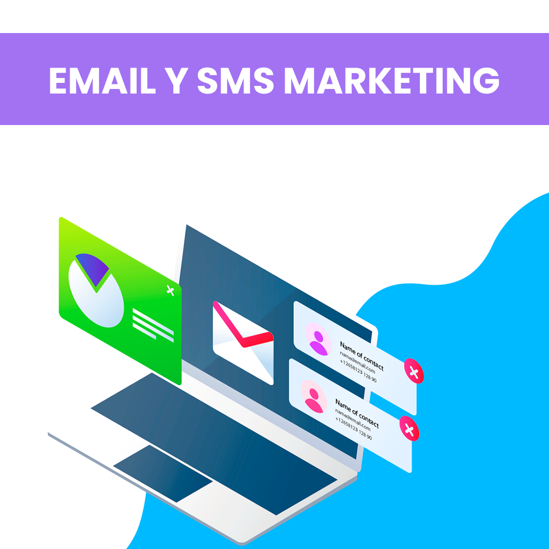 Servicio Email y SMS Marketing